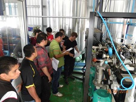 Bitumen emulsion water phase production unit commissioned in Thailand