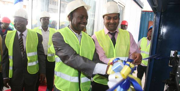 The Historical Commissioning of Bitumen Emulsion Plant in Tanzania