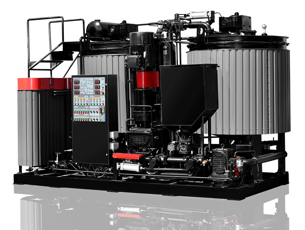 Bitumen modification plant UVB-2 (production capacity 6 m3/h)
